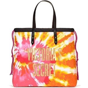 Victoria's Secret Bags - 💕NWT- VS TIE DYE BEACH TOTE 💕LIMITED EDITION💕